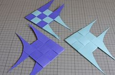 How to weave paper fish  http://www.deschdanja.ch/kreativ-blog