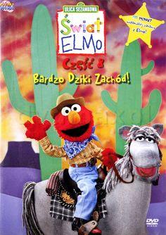 Świat Elmo 8: Bardzo dziki zachód! [DVD] - Steve Feldman za jedyne 59.99 zł - dvdmax.pl