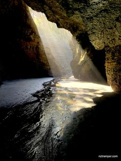 Sun, Cave, Piha, shot by iPhone Auckland New Zealand, Cave, Waterfall, Sun, Explore, Iphone, Outdoor, Outdoors, Caves