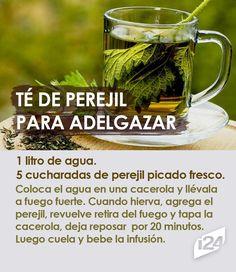 Cuando notes los resultados no paparás de tomarlo 🍵 #Té #infusión #bebida #PerderPeso #dieta #TéDePerejil #perejil #dieta #fit #adelgazar