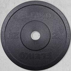 Eleiko Rubber Bumper Plates at MaxWOD Fitness