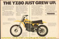 39 best yamaha yz 80 images on pinterest rh pinterest com 79 Yz 400 1982 RM 125