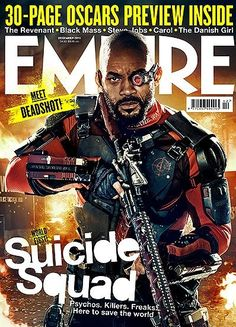 Отряд самоубийц для Empire Magazine