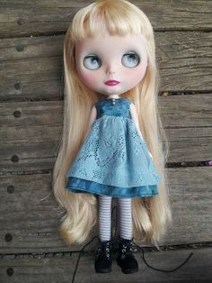 Hey, I found this really awesome Etsy listing at https://www.etsy.com/listing/229343233/blue-lace-blythe-dress