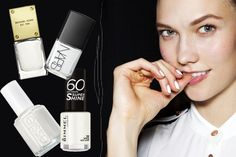 Mani trend: 10 White nail polish we love, it just looks so clean i am obsessed with it!