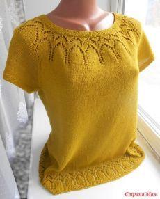 Knitting Machine Patterns, Sweater Knitting Patterns, Lace Knitting, Knitting Designs, Knit Patterns, Cotton Crochet, Knit Crochet, Diy Crafts Knitting, Pulls