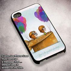 Disney Up Carl & Ellie Love Adventure - For iPhone 4/ 4S/ 5/ 5S/ 5SE/ 5C/ 6/ 6S/ 6 PLUS/ 6S PLUS/ 7/ 7 PLUS Case And Samsung Galaxy Case