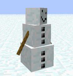 minecraft snow golem - Google Search