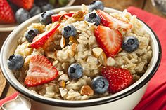 Hungry Girl's Growing Oatmeal B-fast   The Dr. Oz Show   Follow this Dr. Oz Recipe board Now and Make it later!