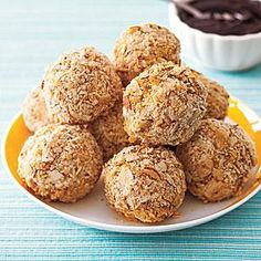 """Fried"" Ice Cream Truffles Recipe 