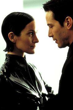 Carrie Ann Moss (Trinity: the Matrix) Keanu Matrix, Keanu Reeves Matrix, Keanu Reeves Young, Matrix Film, The Matrix Movie, Keanu Charles Reeves, Trinity Neo, Trinity Matrix, John Hamm