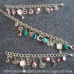 Adventures of a DIY Mom: How to Make Charm Bracelets