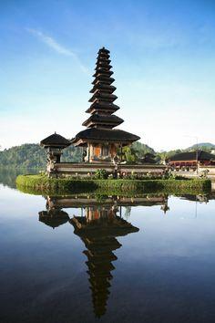 Bratan Temple in Bedugul, Bali, Indonesia