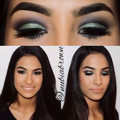 Oh wow, I love this eye look! Very exotic and sultry looking.