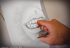 I moderni… sorprendenti e geniali dipinti in 3D che furoreggiano nei social network | IL MONDO DI ORSOSOGNANTE