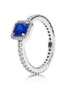 Pandora Blue Timeless Elegance Ring UK