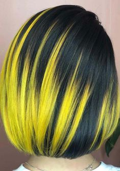 Looking for modern hair colors trends to sport right now? Here you may see a lot of best styles of neon lightning hair color locks with medium hair lengths in 2018. Moreover, else this type of hair color, we've rounded up a lot of more elegant styles of hair colors like balayage, ombre and sombre styles.