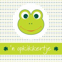 Design Get Well Soon Card / Beterschapskaart by Esther Verwindt  www.kaartje2go.nl