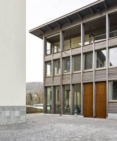 Pool Architekten - Office and housing, Brugg 2013. Some really...