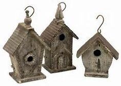 rustic birdhouses - Yahoo Image Search Results