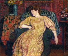 Sleeping, Georges Lemmen