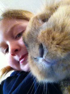 Me and my rabbit