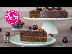Sallys Blog - Schokoladen-Nougat-Torte mit Kirschen