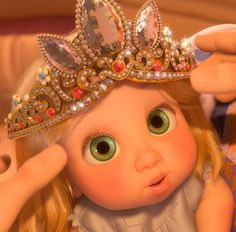 Baby Rapunzel from Tangled is the cutest in world♥ - Trend Parks Disney 2020
