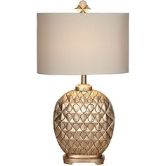 Kathy Ireland Marrakesh Weave Champagne Table Lamp ($130) ❤ liked on Polyvore featuring home, lighting, table lamps, lamps, kathy ireland table lamps, woven lamp, kathy ireland, kathy ireland lighting and kathy ireland lamps