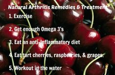 When you are overweight it is very obvious that you will be putting pressure on your joints and this will increase the chances of getting arthritis or increase in the existing pain. So always make sure to keep your weight in check by cutting down your calories. Losing weight will help to ease of all the symptoms associated with arthritis as well as prevent its arrival.....