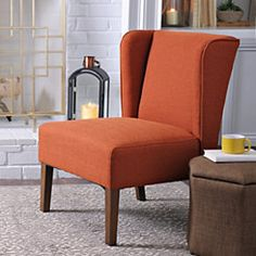 Spice Wing Back Accent Chair
