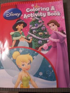 Disney Holiday Coloring Activity Book Princess Fairies By Bendon 1436