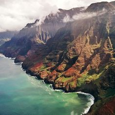 If you're an outdoorsy person, nature lover, or just want to see some of the best views on the island without dealing with the tourist crowds, make sure you visit Kauai's beautiful Na Pali Coast. There are no roads on the westernmost side of the island, making it one of the last isolated, untouched, natural places in the Hawaiian Islands.