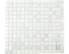Glasmozaïek A 112 mix wit 30,5x32,5 cm kopen bij HORNBACH
