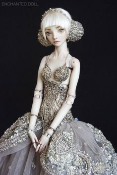 art doll  There are so many beautifully creative minds in this world and not enough time to share them all.  :)