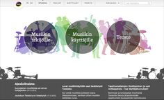 Screenshot of Teosto.fi