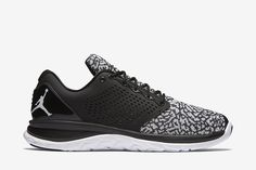 Jordan Trainer ST Men's Training Shoe: Black/Infrared 23/White