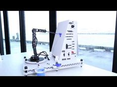3d robot painting arm - http://www.instructables.com/id/Pointillist-Painting-Robot-Arm/