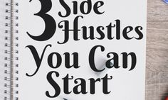 Looking to make extra money to pay off debts, or just to have extra spending cash? Here are 3 side hustles you can start this year to make some extra money! Side hustling, making extra money, making money Ways To Save Money, Money Tips, Money Saving Tips, How To Make Money, Money Budget, Show Me The Money, Make Money From Home, Extra Money, Extra Cash