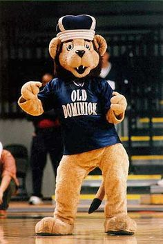 We're the ODU Monarch's . Meet the mascot. Big. Blue. ....the Lion