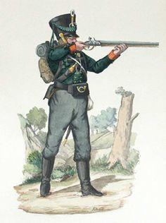Prussian Freikorps by Friedrich Neumann Freiwilliger Jäger beim 2. Ostpreußischen Infanterie-Regiment