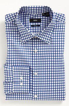 BOSS Black Sharp Fit Dress Shirt | Nordstrom