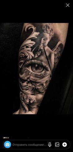 Natur Tattoo Arm, Arm Tattoo, Time Piece Tattoo, Blessed Tattoos, Religious Tattoos, Custom Tattoo, Tattoo Designs, David, Ink