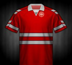 Denmark home shirt for the 1988 European Championship.