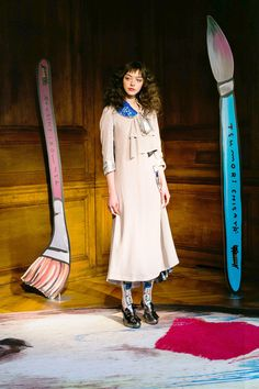 See the complete Tsumori Chisato Fall 2017 Ready-to-Wear collection.