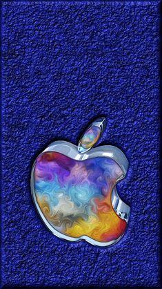 Download Apple Art-02 640 x 1136 Wallpapers - 4582640 - Apple Logo   mobile9