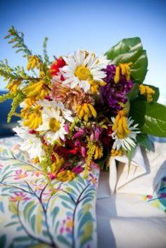 #wildflower bouquet shot at Growing Wild Farm in Delaplane VA #growingwildfloral