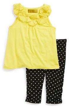 Nicole Miller Sleeveless Tunic & Leggings (Baby Girls) available at #Nordstrom