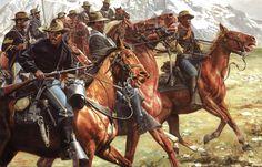 The_Warning_ShotDon Stivers Buffalo Soldier Prints
