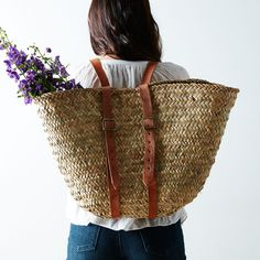 Woven Market Backpack on Food52